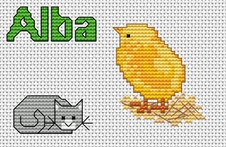 Cross stitch charts