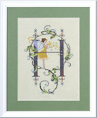 Letters From Nora - H - Cross Stitch Pattern