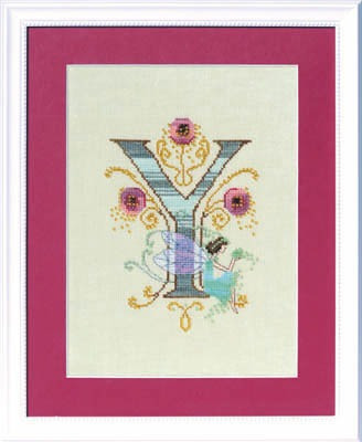 Letters From Nora - Y - Cross Stitch Pattern