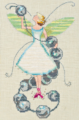 Stitching Fairies Bead Fairy - Cross Stitch Pattern