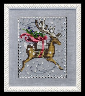 Comet - Christmas Eve Couriers - Cross Stitch Pattern