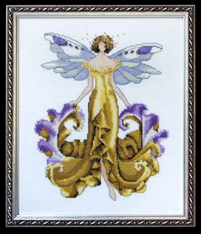 Iris - Cross Stitch Pattern