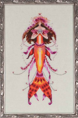 Ophelia's Pearl - Cross Stitch Pattern