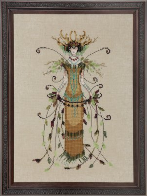 Willow Queen, The - Cross Stitch Pattern