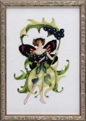 Inkberry Holly - Pixie Blossoms - Cross Stitch Pattern