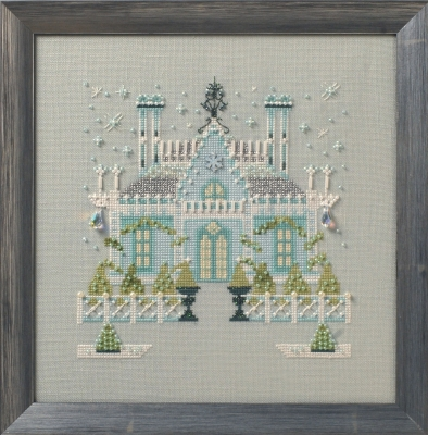 Gothic House, The - Cross Stitch Pattern